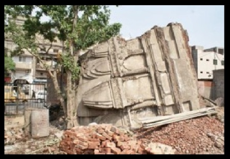 Jain mandir Anarkali- demolished on 10-02-2016
