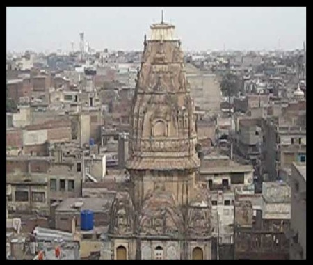 Jain mandir view from Lahore Anarkali- in 2009