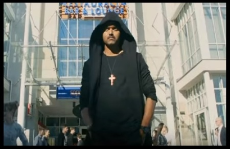 Joseph Vijay- with cross-Devil