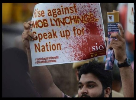 Campaign against mob-lynching