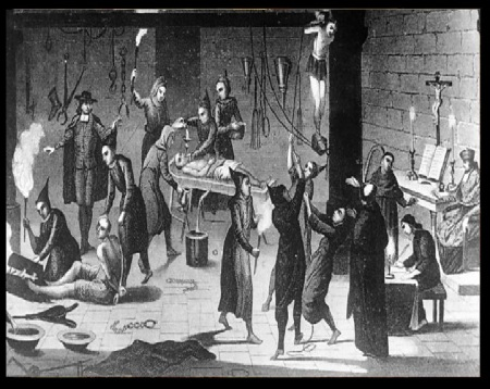 Inquisition, torture, mass killing