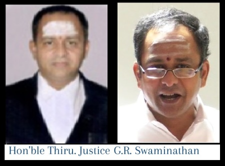 G R Viswanathan, Judge
